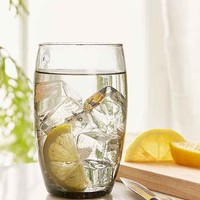 Grey Bubble Drinking Glass