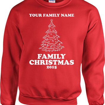 Funny Christmas Sweater Matching Family Christmas Hoodie Holiday Gifts Christmas Clothing Holiday Sweater Holiday Outfits Xmas Gifts - SA521