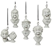 The Haunted Mansion Busts Ornament Set   Disney Store