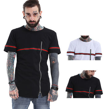 Short Sleeve Summer Men's Fashion Strong Character Round-neck T-shirts [9724848963]