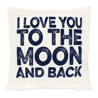 Simply Southern Moon And Back Pillow