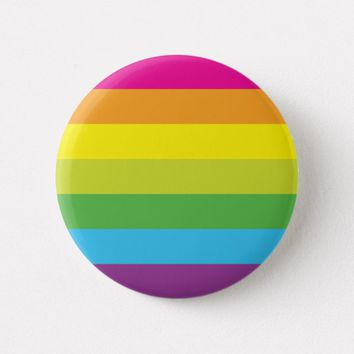 Beautiful Rainbow Button