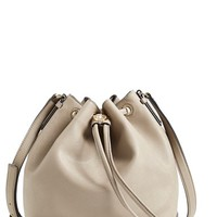 Tory Burch 'Robinson' Saffiano Leather Bucket Bag