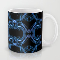 Smoke Art Square Mug by Karl Wilson Photography