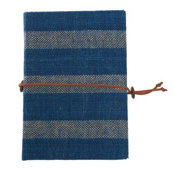 Natural Dyed Large Fabric Journal