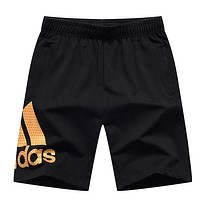 Trendsetter Adidas Woman Fashion Gym Sport Yoga Embroidery Print Shorts