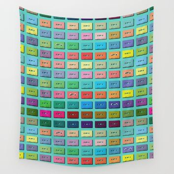 Wall of Sound Wall Tapestry by picturing juj