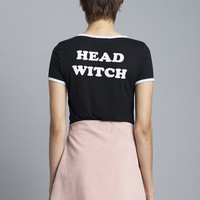 Head Witch Ringer Tee