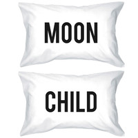 Moon Child Pillowcases - Bold Statement Pillow Covers