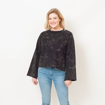 Zoey Distressed Sweatshirt