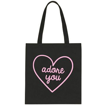 "Harry Styles ""Adore You Heart"" Tote Bag"