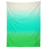 Natalie Baca Aquamarine Ombre Tapestry