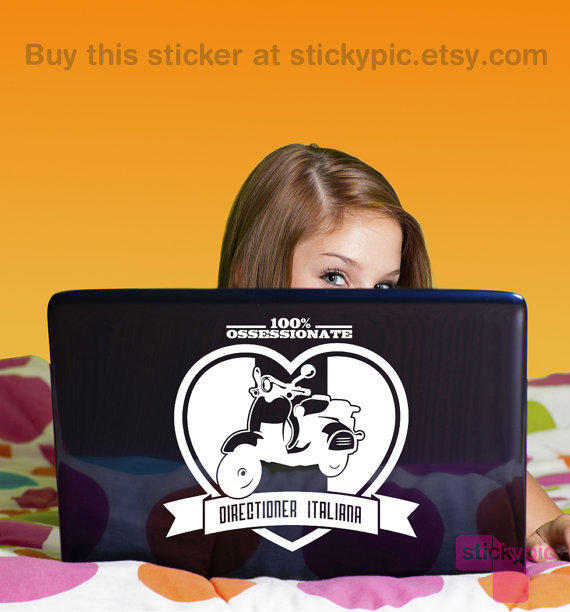 *NEW* ~Directioner Italiana~ Laptop/Wallpaper Decal by stickypic