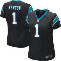 Cam Newton Carolina Panthers Nike Women's Limited Jersey – Black