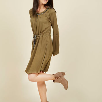 Avid Traveler Dress | Mod Retro Vintage Dresses | ModCloth.com
