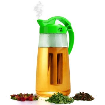 MAMI WATA Tea & Fruit Infusion Pitcher | Free Ice Ball Maker | Free Infused Water Recipe eBook | Includes Shatterproof Jug, Fruit Infuser and Tea Infuser – The PERFECT Set