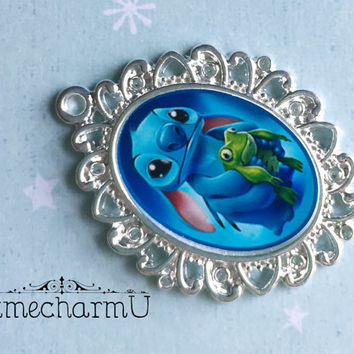 Stitch Pendant - Lilo and Stitch Pendant - Stitch Necklace - Lilo and Stitch necklace  - Stitch Jewelry - Lilo and Stitch Jewelry