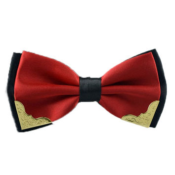 Fashion New  Formal Bow Tie Fashion Men's Bowties for Boys Accessories Butterfly Cravat Bowtie Butterflies