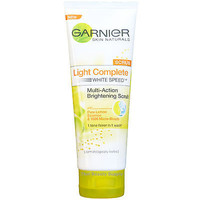 Garnier Light Complete Skin Whitening Multi Action Brightening Scrub 100ml 3.4oz
