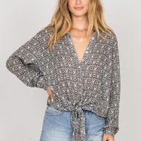 Under My Spell Woven Top