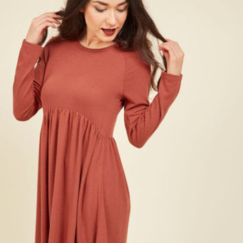 Press Orchard Babydoll Dress | Mod Retro Vintage Dresses | ModCloth.com