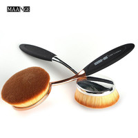 MAANGE New Arrival Big Oval Tooth Brush Foundation Makeup Brushes Loose Powder Brush Free shipping Black Friday