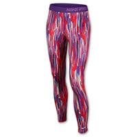 Girls' Nike Printed Pro Hyperwarm Tights