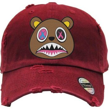 Crazy Baws Maroon Dad Hat