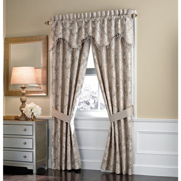 Croscill Home Ava 84-Inch Rod Pocket Curtain Panel | Overstock.com Shopping - The Best Deals on Curtains