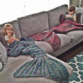 Basa fish fat beauty blanket blankets thick carpet wool hand-knit wool blanket