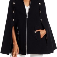 See By Chloe | Wool Blend Military Cape | Nordstrom Rack