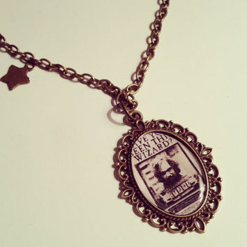 Harry Potter Sirius Black Cameo Necklace by RabbitJewellery