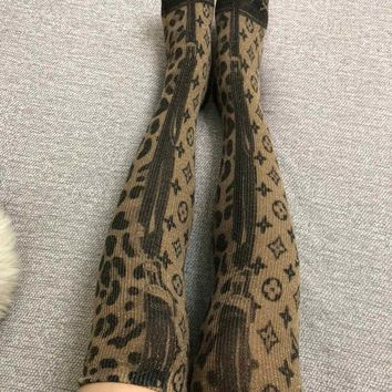 Louis Vuitton LV Lurex Long Socks