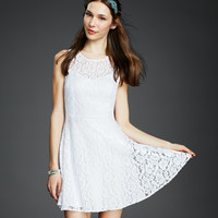 Sweetheart Lace Graduation Dress