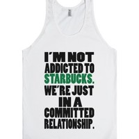 C - Committed Relationship-Unisex White Tank