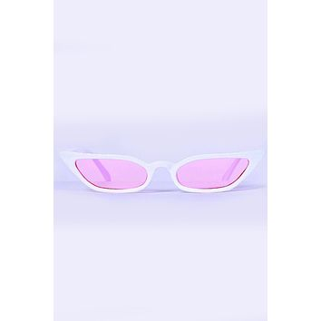 Twiggy Cat Eye Sunglasses