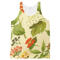floral 302 All-Over-Print tank top