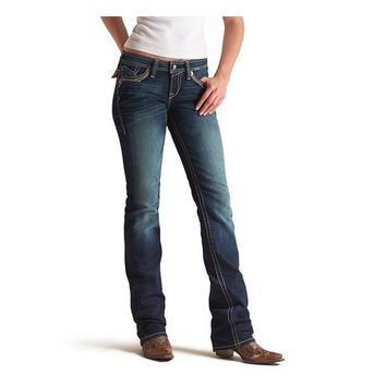 Ariat Amber Leather Dot Bootcut Jeans