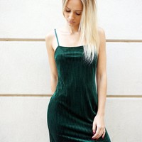 """Green With Envy"" Dress"