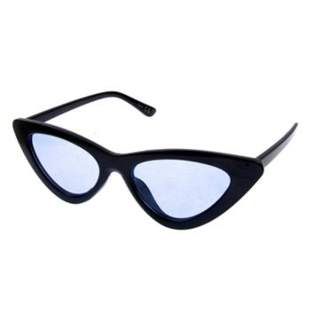 Cat Eye Shades - Black/ Blue