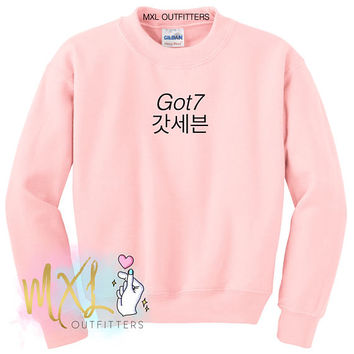 Got7 Crewneck Sweatshirt