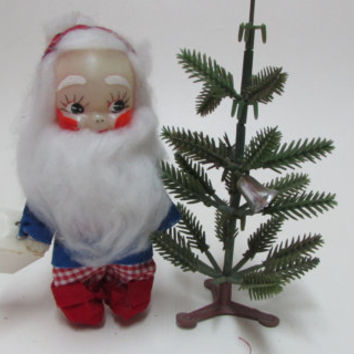Vintage Dwarf Toy, Old Elf-Dwarf Toy, Doll, Decor Figure, Christmas decor dwarf tree,Collectible Christmas Toys, Gift for kids