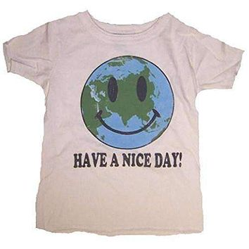 Junk Food Kids Have a Nice Day Earth T-Shirt