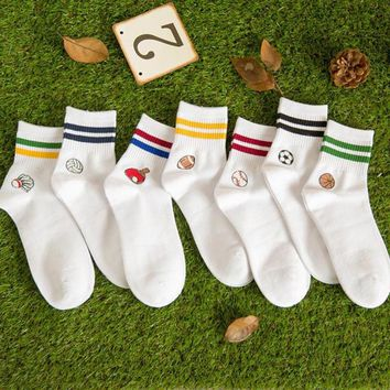 New Hot Fashion Hand Made Autumn And Winter Sock Leisure Ball Cotton Breathable Sporting Sock for Men Gift Calcetines Hombre 95Z