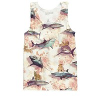 Sharks and Kittens Tank Top