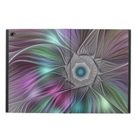 Colorful Flower Power Abstract Modern Fractal Art Powis iPad Air 2 Case
