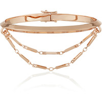 Eddie Borgo - Rose gold-plated bracelet