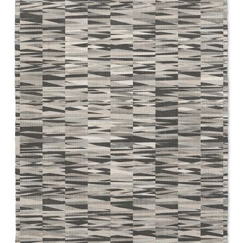 WEXLER GEO GREY Area Rug By Becky Bailey
