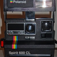 POLAROID SPIRIT 600 LAND INSTANT CAMERA