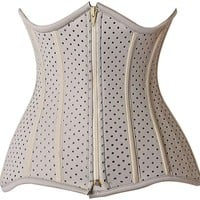 Daisy Corsets Top Drawer CURVY Steel Boned Ventilated Under Bust Neoprene Corset